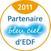 EDF bleu ciel reconnait la qualité et la fiabilité de nos constructions