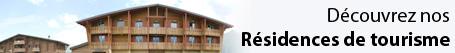 SOCAIM - Nos résidences de tourisme